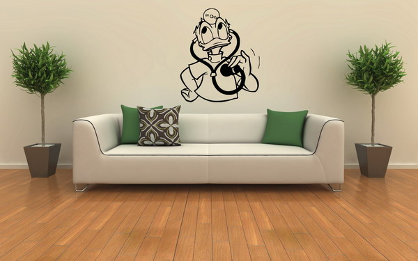 Modern Living Room Wall Decal Ideas